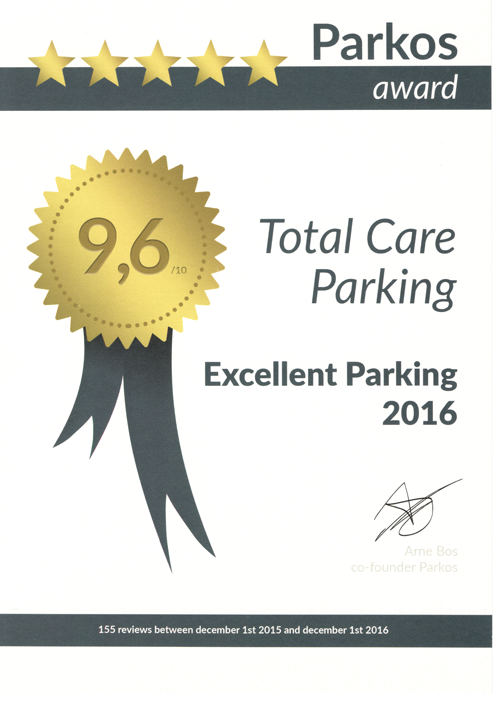 Parkos | Total care parking